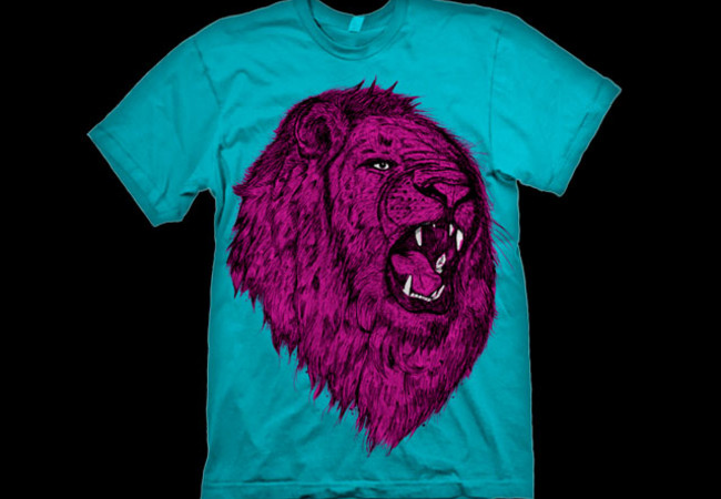 LION KING,NO! LION PINK!