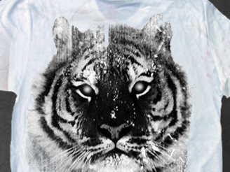 White Tiger - 1 Color by camsaprana25