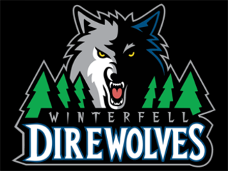 Winterfell Direwolves Logo by CrosbyC