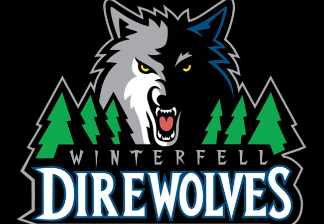 Winterfell Direwolves Logo