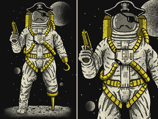 Astronaut Pirate