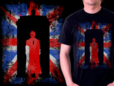 Doctor in a flag T-Shirt Design by