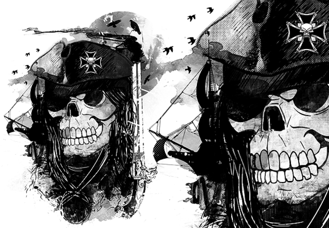 -=THE BLACK PIRATE=-