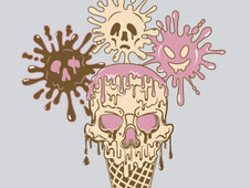 Ice-Scream! T-Shirt Design by