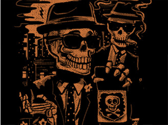 Agents Bones & Skully by gloopz