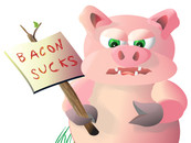 Bacon Sucks by Richardwc