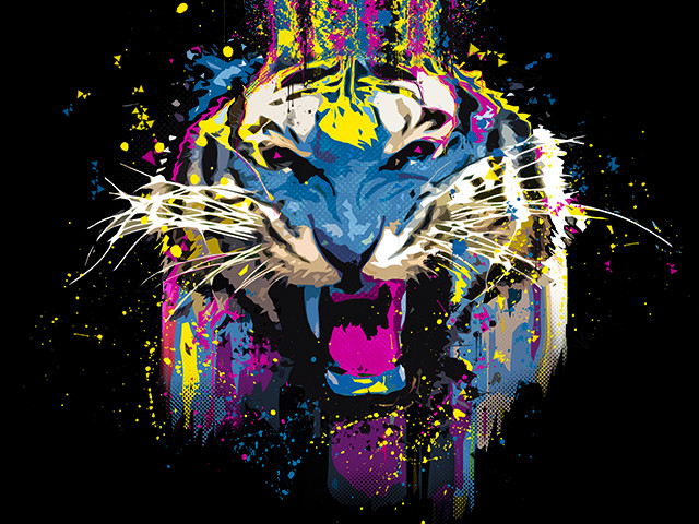 Funked Up Tiger