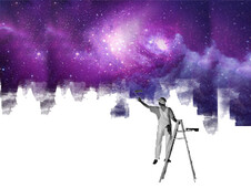 Painting the universe T-Shirt Design by
