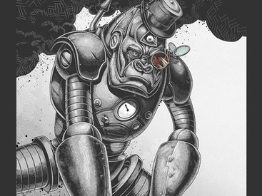Mechanical Primate by DrSpazmo