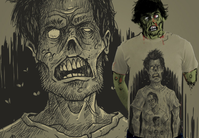 Zombie on My Shirt !