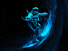 Space Surfing T-Shirt Design by