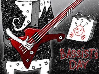 Bassist's day by Bubingin