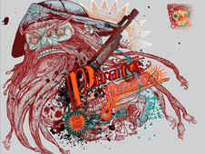 Pirate forever T-Shirt Design by