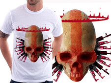 Saint War T-Shirt Design by