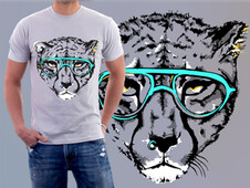 This Cool Cat T-Shirt Design by