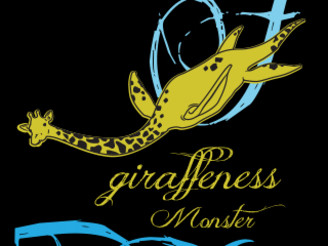 Giraffeness Monster by jadenremyrogers