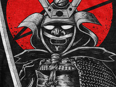 Samurai warrior'Z T-Shirt Design by