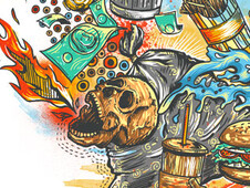 Junk Head T-Shirt Design by