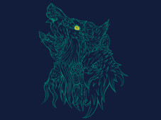 Singing Howl T-Shirt Design by