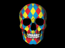 Colorfull death T-Shirt Design by