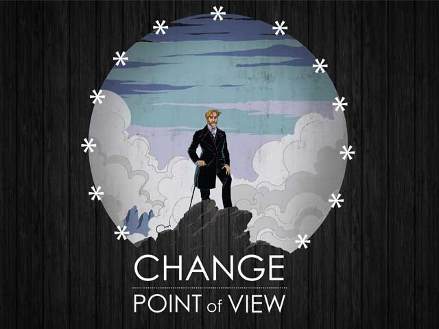 Change point of view