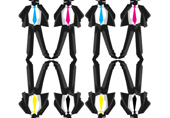Business men cmyk