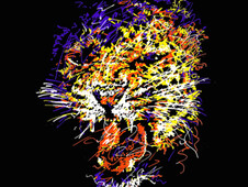 """cheetah"" T-Shirt Design by"