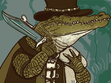 Crocodile Hunter T-Shirt Design by