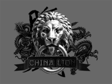 China Lion T-Shirt Design by