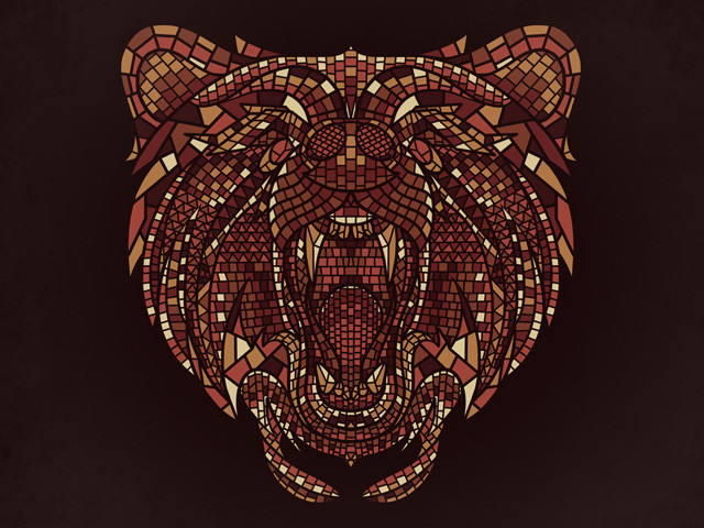 Grizzly Mosaic