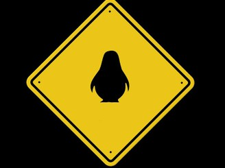 Caution...Penguins Crossing by MyLittleDemon