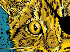 golden piracat T-Shirt Design by