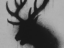 Dark deer T-Shirt Design by