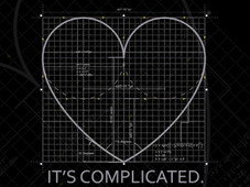 """It's complicated."" T-Shirt Design by"