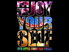 Enjoy Yourself T-Shirt Design by