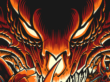 Into Eternal Flames T-Shirt Design by