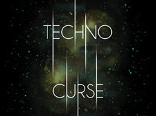 Techno Curse T-Shirt Design by