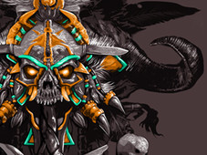 Witch Doctor's Mojo T-Shirt Design by