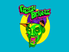 Fresh Brainz T-Shirt Design by