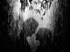 Lovers in the Rain T-Shirt Design by