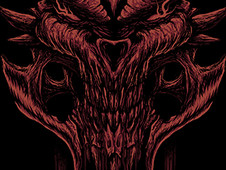 the terror within T-Shirt Design by