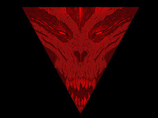 Triangle of Terror T-Shirt Design by