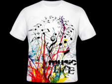music T-Shirt Design by