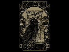 crow in the dark T-Shirt Design by