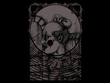 mistery clown T-Shirt Design by