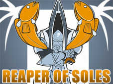 Reaper of Soles T-Shirt Design by