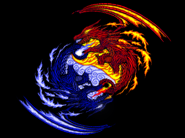 Ying Yang - Dragon Form