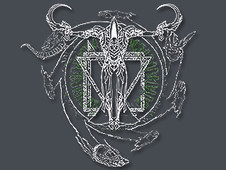 Mortus Centrum Solum Vita T-Shirt Design by