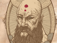 Holy Monk T-Shirt Design by