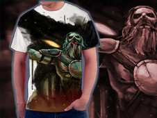 the last barbarian T-Shirt Design by